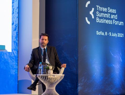 Yves Le Stunff at the Business Forum