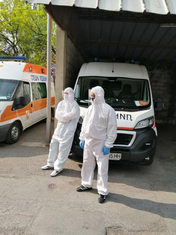 Total E&P Bulgaria donated protective equipment to Emergency medical center Varna for the fight against COVID19